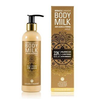 Body Milk con Oro 22K Antiedad Reafirmante 250 ml
