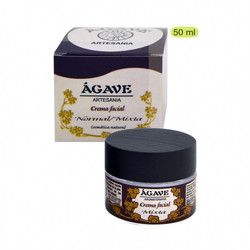 Agave - Crema Facial Piel Normal/Mixta 50 ml