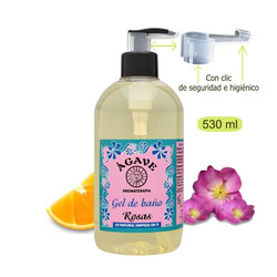Gel de Baño de Rosas 530 ml