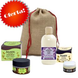 Agave - Pack Promoción Cremas Faciales + Bolsa Lufa