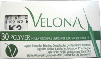 Depileve - Agujas de depilación Velona (Acero) K2