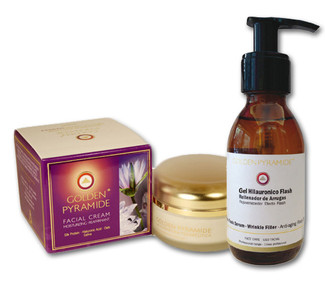 Golden Pyramide - Gel Hialurónico 125ml + Crema Hidratante Reafirmante 200ml