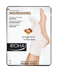 Iroha Nature - Calcetines Mascarilla Nutritiva (Argan)