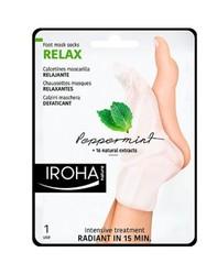Iroha Nature - Calcetines Mascarilla Relajante (Menta)