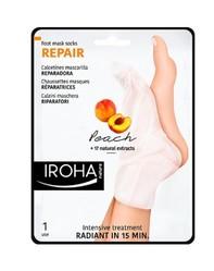 Iroha Nature - Calcetines Mascarilla Reparadora (Melocotón)