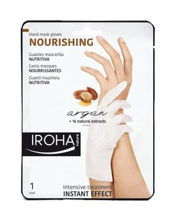 Iroha Nature - Guantes Mascarilla Nutritiva (Argan)