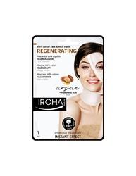 Iroha Nature - Mascarilla de cara y cuello Regeneradora - Argán