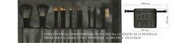 Kubobeauty - Porta Pinceles con cinturón +11 Pinceles J150